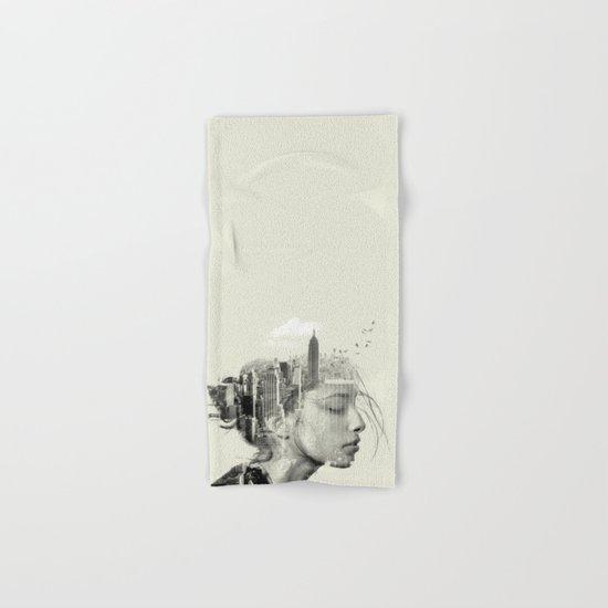 New York City reflection Hand & Bath Towel