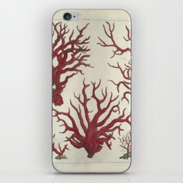 Naturalist Red Coral iPhone Skin