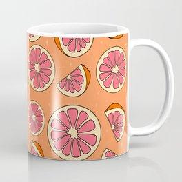 Grapefruit Print Coffee Mug