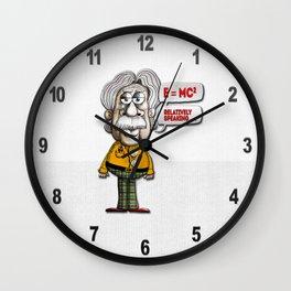 Relatively Einstein Wall Clock