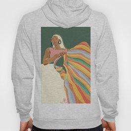 Rainbow Lady Hoody