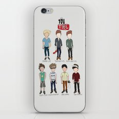 Youtube Boys  iPhone & iPod Skin