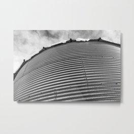 Grain Bin 3 Metal Print