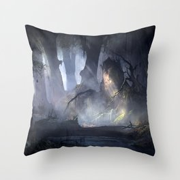 Beyond Immagination Throw Pillow