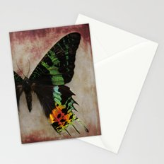 Sunset Moth Wing Stationery Cards