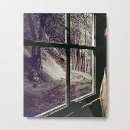 Window to the Forest Metal Print