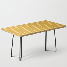 organic / yellow Coffee Table