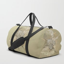 50 Shades of lace Gold Gold Duffle Bag