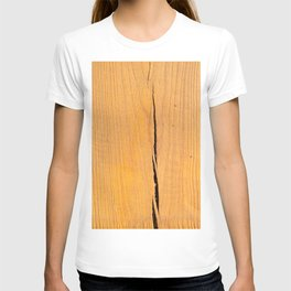 Crack in Wood T-shirt