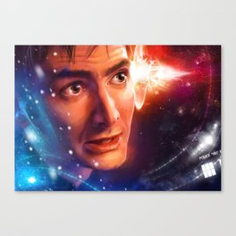 The Time Lord Victorious Canvas Print