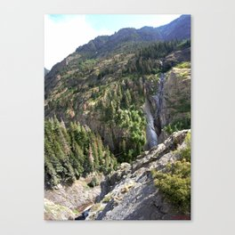The Uncompahgre Gorge - From the Base of Bear Creek Falls Canvas Print