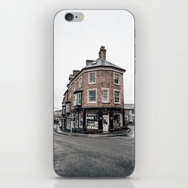 Book shop in Buxton iPhone Skin