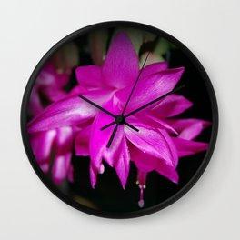 Petals of Persian Rose Wall Clock