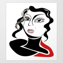 yes she is Art Print