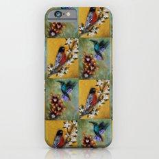 Hummingbird and Robin Slim Case iPhone 6s