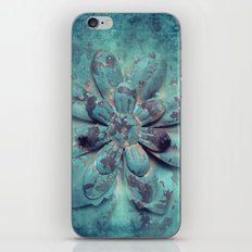 Tin Flower iPhone & iPod Skin