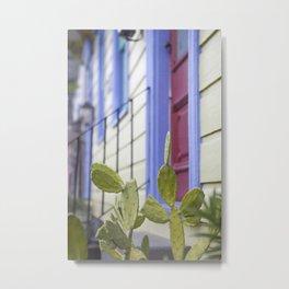 New Orleans Marigny Cactus Metal Print