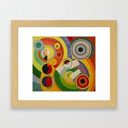 """Robert Delaunay """"Rythme, Joie de vivre"""" Framed Art Print"""