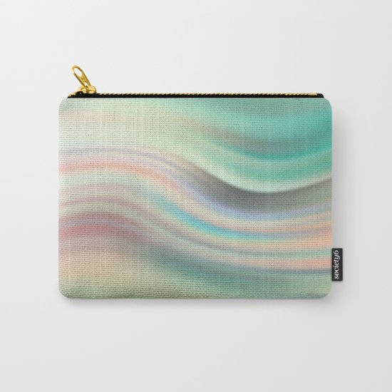 Green mist. Blurred background Carry-All Pouch