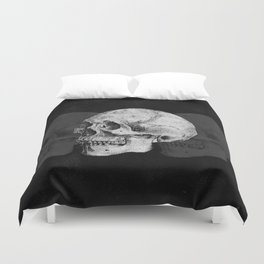 We Left As Skeletons  Duvet Cover