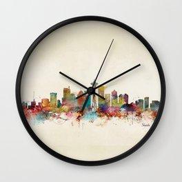 seattle washington  Wall Clock