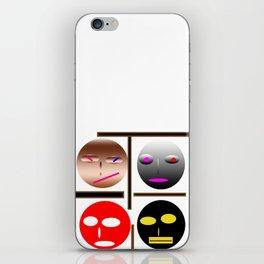 Wellcome the emojes iPhone Skin