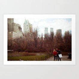 Urban Nature: I Art Print