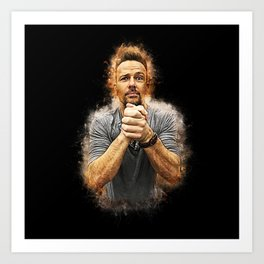 Flanery Prayers Art Print