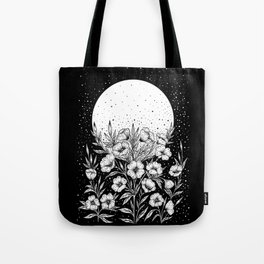 Moon Greeting Tote Bag