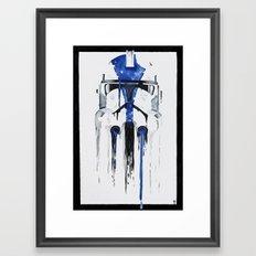 A blue hope 1 Framed Art Print