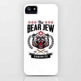 Inglourious Basterds - The Bear Jew iPhone Case