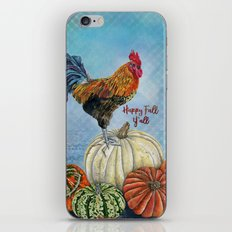 Happy Fall Y'all iPhone & iPod Skin