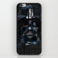 darth vader iPhone & iPod Skins featuring Darth Vader by BarLevitsky