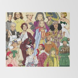 Womans Collection Throw Blanket