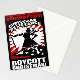 Christmas Resistance  Stationery Cards
