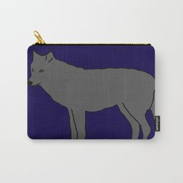 The Furtive Timberwolf Carry-All Pouch
