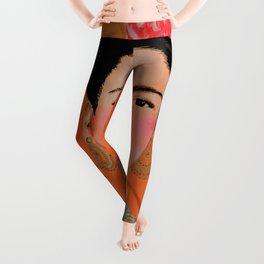 frida a coyoacan Leggings