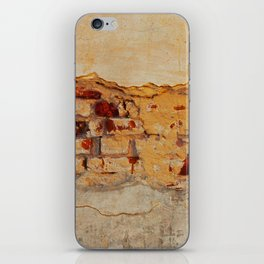 Stone wall Abstrackt hole iPhone Skin