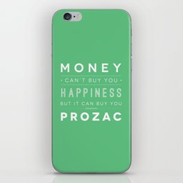Prozac Nation iPhone Skin