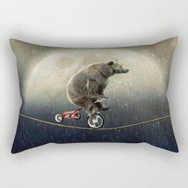 balancing act (under the weather) Rectangular Pillow