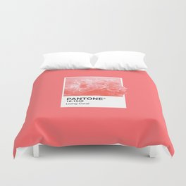 Pantone Series – Living Coral Duvet Cover