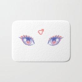 Sailor Mars Eyes Bath Mat