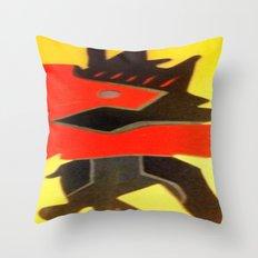 inner battle Throw Pillow