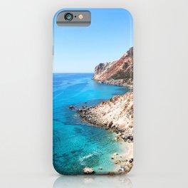 208. Perfect Beach, Greece iPhone Case