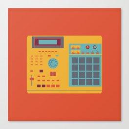 World of Stereo: Akai MPC 2000XL Canvas Print