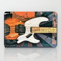 bass iPad Cases featuring Elvis' Bass by ADH Graphic Design