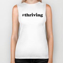 #thriving earth Biker Tank