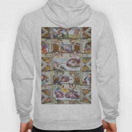 """Michelangelo """"Sistine Chapel ceiling"""", Hoody"""