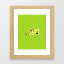 Casino Royale - James and Vesper Framed Art Print