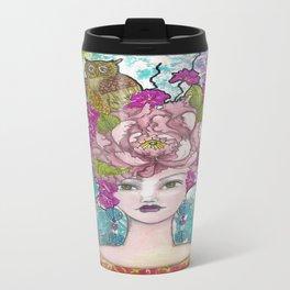 Peony1 Travel Mug